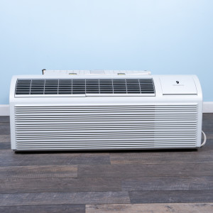 Image 1 of 12k BTU Reworked Gold-rated Friedrich PTAC Unit with Resistive Electric Heat Only - 265/277V, 20A, NEMA 7-20