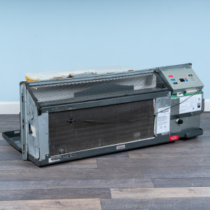 Image 4 of 12k BTU Reworked Gold-rated Amana PTAC Unit with Heat Pump - 208/230V, 15A, NEMA 6-15
