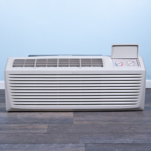 Image 1 of 7k BTU Reworked Platinum-rated LG PTAC Unit with Resistive Electric Heat Only - 208/230V, 15A, NEMA 6-15