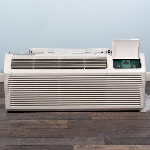 Image 1 of 9k BTU New Midea PTAC Unit with Heat Pump - 208/230V, 20A, NEMA 6-20 (MP09HMB82)