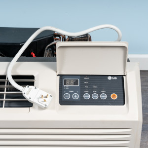 Image 2 of 7k BTU Reworked Gold-rated LG PTAC Unit with Heat Pump - 208/230V, 15A, NEMA 6-15