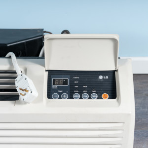 Image 2 of 7k BTU Reworked Gold-rated LG PTAC Unit with Resistive Electric Heat Only - 208/230V, 20A, NEMA 6-20