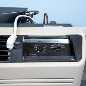 Image 2 of 12k BTU Reworked Gold-rated GE PTAC Unit with Resistive Electric Heat Only - 208/230V, 30A