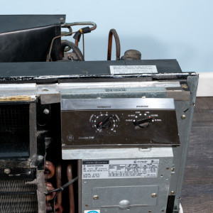 Image 4 of 12k BTU Reworked Gold-rated GE PTAC Unit with Resistive Electric Heat Only - 208/230V, 30A