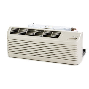 Image 1 of 12k BTU New Carrier PTAC Unit with Resistive Electric Heat Only - 265/277V, 20A, NEMA 7-20 (CA12KEH265KN)