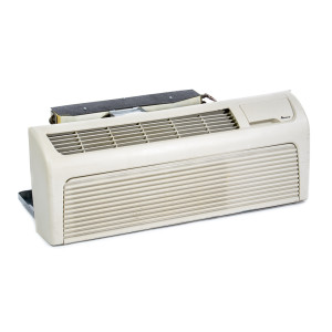 Image 1 of 15k BTU New Midea PTAC Unit with Resistive Electric Heat Only - 208/230V