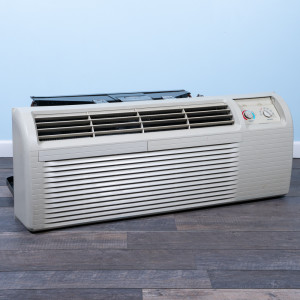 Image 3 of 15k BTU Reworked Gold-rated Amana PTAC Unit with Heat Pump - 208/230V, 30A, NEMA 6-30