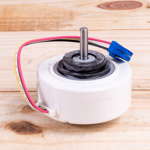 Image 2 of New GE Indoor Motor For PTAC Units (WP94X10306)