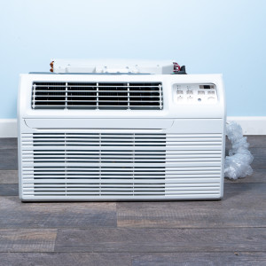 """Image 1 of TTW Unit - 9k Gree 26"""" Air Conditioner With Integral Heat Pump and 1.5 kW Resistive Electric Heat"""