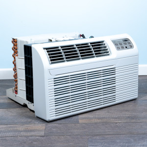 """Image 4 of TTW Unit - 9k Gree 26"""" Air Conditioner With Integral Heat Pump and 1.5 kW Resistive Electric Heat"""