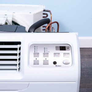 """Image 2 of TTW Unit - 9k Gree 26"""" 208v Air Conditioner With Resistive Electric Heat"""