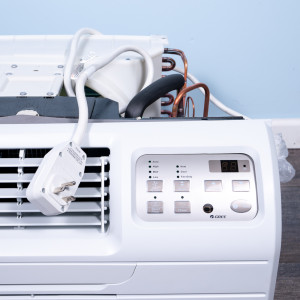 """Image 3 of TTW Unit - 9k Gree 26"""" 208v Air Conditioner With Resistive Electric Heat"""