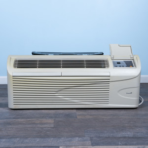 Image 1 of 12k BTU Reworked Gold-rated Premaire PTAC Unit with Heat Pump - 265/277V 20A