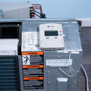 Image 4 of 9k BTU Reworked Platinum-rated Trane PTAC Unit with Heat Pump - 265/277V, 20A, NEMA 7-20