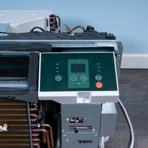 Image 4 of 9k BTU Reworked Platinum-rated Midea PTAC Unit with Heat Pump - 265/277V, 20A