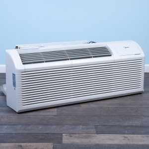 Image 3 of 12k BTU Reworked Platinum-rated Midea PTAC Unit with Resistive Electric Heat Only - 265/277V, 30A, NEMA 7-30