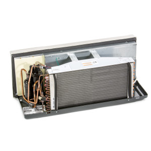 Image 1 of 12k BTU New Carrier PTAC Unit with Heat Pump - 265/277V, 20A (CA12KHP265KN)
