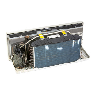 Image 1 of 7k BTU New Amana PTAC Unit with Resistive Electric Heat Only - 265/277V (AM7KEH265KN)