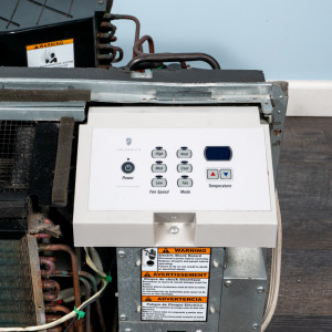 Image 4 of 7k BTU Reworked Gold-rated Friedrich PTAC Unit with Heat Pump - 265/277V 20A