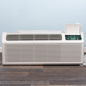 Image 1 of 15k BTU New Midea PTAC Unit with Resistive Electric Heat Only - 208/230V, 30A, NEMA 6-30 (MP15EMC82)