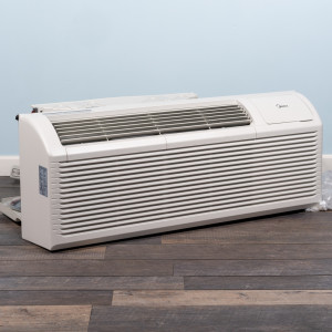Image 3 of 15k BTU New Midea PTAC Unit with Resistive Electric Heat Only - 208/230V, 30A, NEMA 6-30 (MP15EMC82)