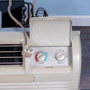 Image 2 of 15k BTU Reworked Gold-rated GE PTAC Unit with Heat Pump - 208/230V, 30A, NEMA 6-30