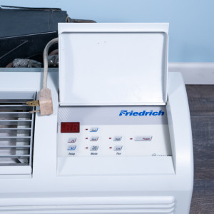 Image 2 of 9k BTU Reworked Gold-rated Friedrich PTAC Unit with Resistive Electric Heat Only - 208/230V, 20A, NEMA 6-20