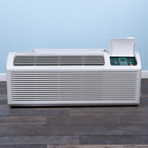 Image 1 of 9k BTU Reworked Gold-rated Midea PTAC Unit with Resistive Electric Heat Only - 208/230V, 30A