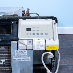 Image 4 of 9k BTU Reworked Gold-rated GE PTAC Unit with Heat Pump - 265/277V, 20A, NEMA 7-20