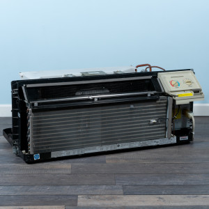 Image 5 of 12k BTU Reworked Gold-rated GE PTAC Unit with Resistive Electric Heat Only - 265/277V, 20A, NEMA 7-20