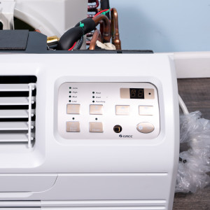 "Image 2 of TTW Unit - 9k Gree 26"" Air Conditioner With Integral Heat Pump and Resistive Electric Heat"
