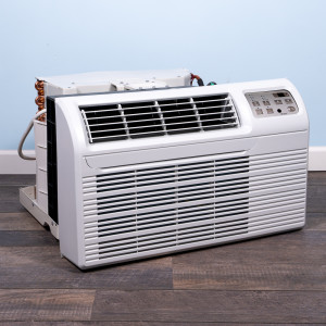 "Image 4 of TTW Unit - 9k Gree 26"" Air Conditioner With Integral Heat Pump and Resistive Electric Heat"
