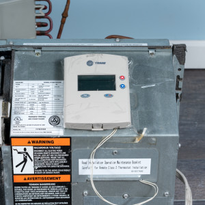 Image 5 of 9k BTU Reworked Gold-rated Trane PTAC Unit with Resistive Electric Heat Only - 265/277V, 20A, NEMA 7-20