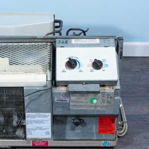 Image 4 of 7k BTU Reworked Gold-rated Amana PTAC Unit with Resistive Electric Heat Only - 208/230V, 20A, NEMA 6-20