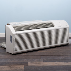 Image 3 of 9k BTU New Midea PTAC Unit with Resistive Electric Heat Only - 208/230V, 20A, NEMA 6-20 (MP09EMB52)