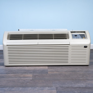 Image 1 of 12k BTU Reworked Platinum-rated Gree PTAC Unit with Resistive Electric Heat Only - 208/230V, 20A, NEMA 6-20