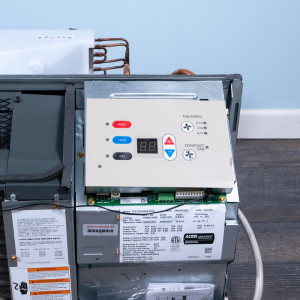 Image 3 of 9k BTU Reworked Platinum-rated Amana PTAC Unit with Resistive Electric Heat Only - 265/277V 20A