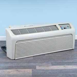 Image 3 of 9k BTU Reworked Gold-rated Amana PTAC Unit with Heat Pump - 265/277V, 15A
