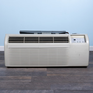 Image 1 of 12k BTU Reworked Gold-rated GE PTAC Unit with Heat Pump - 208/230V, 20A, NEMA 6-20
