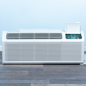 Image 1 of 12k BTU New Midea PTAC Unit with Resistive Electric Heat Only - 208/230V, 30A, NEMA 6-30 (MP12EMC82)