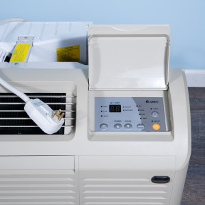 Image 2 of 12k BTU Reworked Gold-rated Gree PTAC Unit with Resistive Electric Heat Only - 208/230V, 20A, NEMA 6-20
