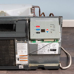 Image 3 of 7k BTU Reworked Gold-rated Amana PTAC Unit with Resistive Electric Heat Only - 265/277V, 15A