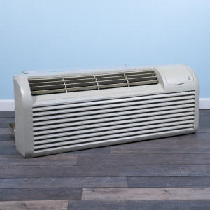 Image 3 of 9k BTU Reworked Gold-rated GE PTAC Unit with Resistive Electric Heat Only - 265/277V, 15A