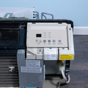 Image 4 of 9k BTU Reworked Gold-rated GE PTAC Unit with Resistive Electric Heat Only - 265/277V, 15A