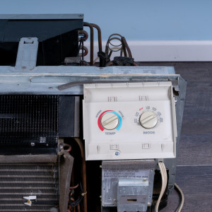 Image 3 of 12k BTU Reworked Gold-rated GE PTAC Unit with Resistive Electric Heat - 208/230V 15AMP