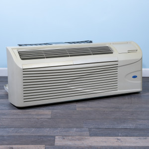 Image 3 of 12k BTU Reworked Gold-rated Carrier PTAC Unit with Resistive Electric Heat - 208/230V 20AMP