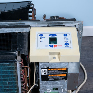 Image 4 of 12k BTU Reworked Gold-rated Carrier PTAC Unit with Resistive Electric Heat - 208/230V 20AMP