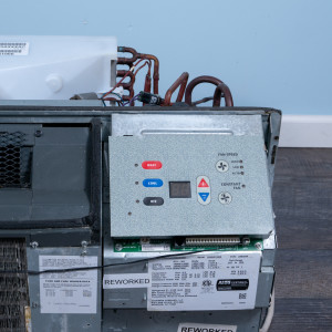 Image 3 of 15k BTU Reworked Gold-rated Amana PTAC Unit with Heat Pump - 265/277V 20AMP