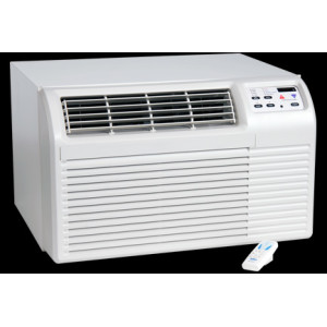 Image 1 of TTW Unit - 9k Amana PBE Series 208v Air Conditioner with 3.5 kW Electric Heat