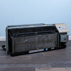 Image 5 of 9k BTU Reworked Gold-rated GE PTAC Unit with Resistive Electric Heat Only - 208/230V, 30A, NEMA 6-30